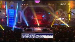 051231 Kim Jong Kook & Ha Ha Turbo Dance Stage