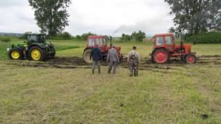 Traktor párbaj - John Deer két MTZ ellen