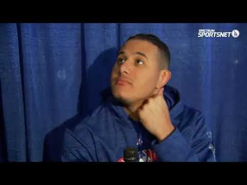 Manny Machado Pregame Interview | Dodgers vs Red Sox World Series Game 1