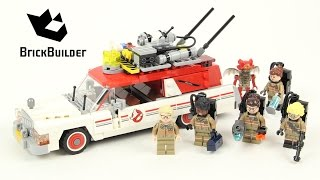 Lego Ghostbusters 75828 Ecto-1 & 2 - Lego Speed Build