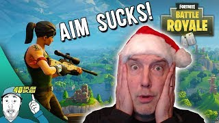WHY YOUR AIM SUCKS IN FORTNITE!