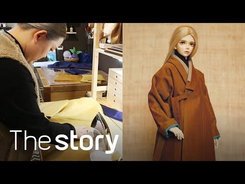 Hanbok, which is worn by a BJD, is so cool! Meet the BJD dressmaker of Hanbok