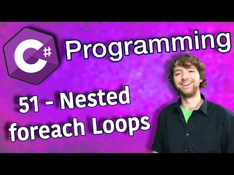 C# Programming Tutorial 51 - Nested for Loops thumbnail