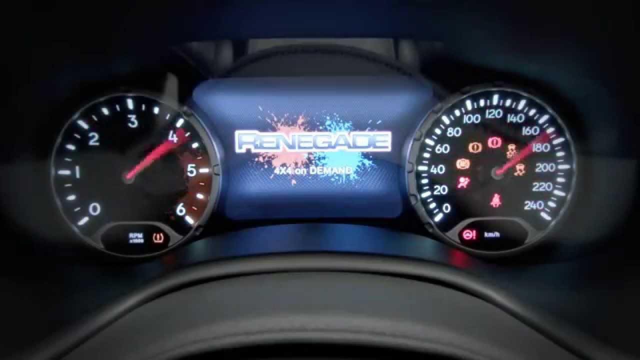 2015 Jeep Renegade Trailhawk Interior Video 1 YouTube