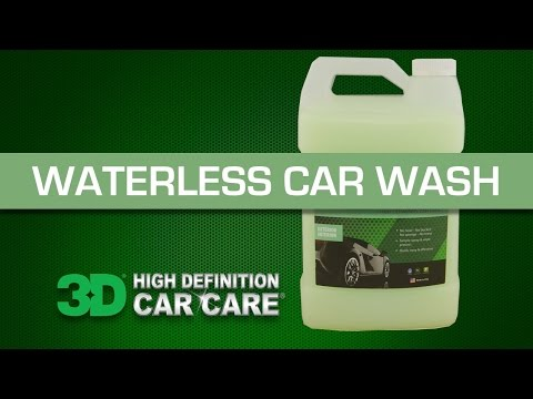 Waterless Car Wash by 3D Products