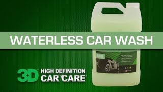 How to use Waterless Car Wash by 3D Products