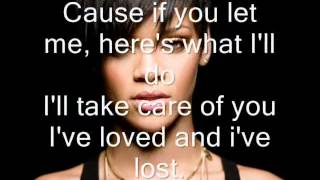 rihanna ft drake take care lyrics ♥