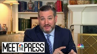 Full Cruz: House Impeachment Is 'Kangaroo Court' | Meet The Press | NBC News