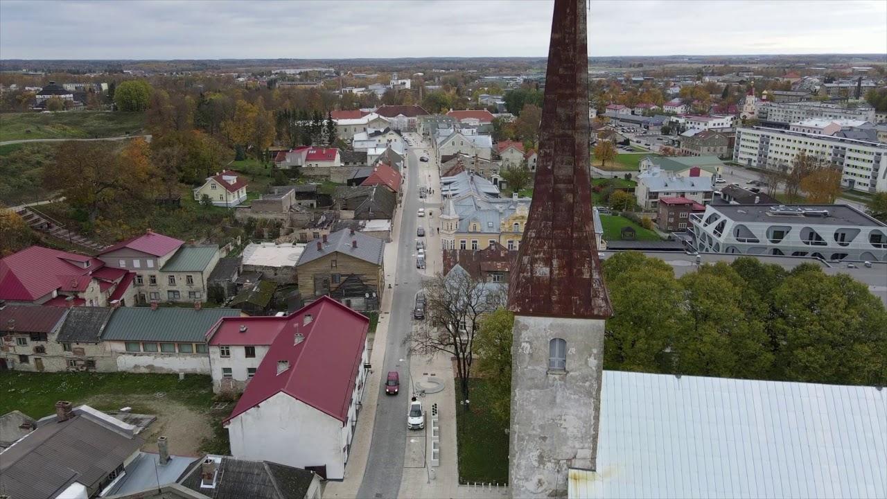 Square! Positively shrinking / Rakvere, Estonia