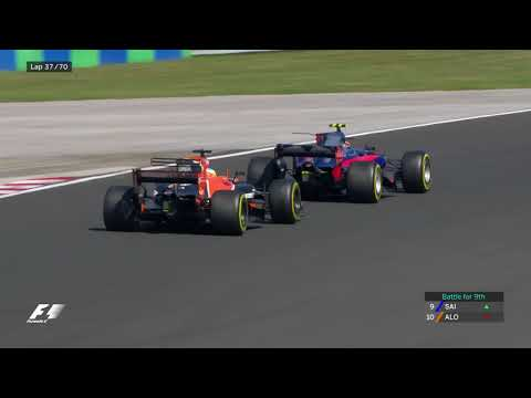 Alonso's Stunning Pass On Sainz | F1 Best Overtakes Of 2017