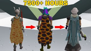 7500 Hours Of Main MAXING An Old School RuneScape Account