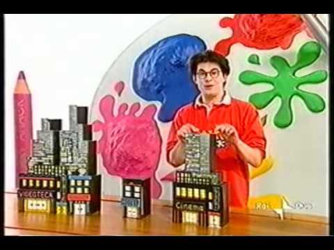 Art attack ytp costruire una citt dei video con la carta - Casetta di cartone da colorare ...