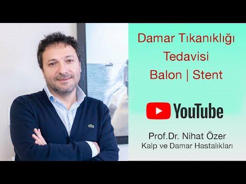 Damar Tıkanıklığı Tedavisinde  Balon Mu Stent Mi ? |  Prof. Dr. Nihat Özer | Doktorundan Dinle