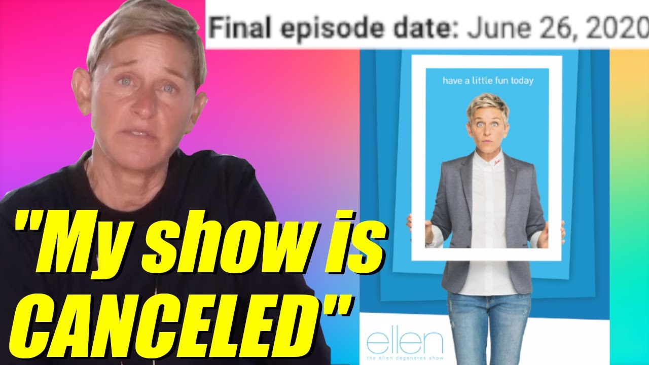 Is 'The Ellen DeGeneres Show' getting canceled?