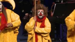 Snow Symphony by Slava Polunin and Gidon Kremer // сНежная Симфония Славы Полунина и Гидона Кремера