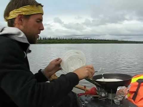 Mackenzie River Guide cooking.avi