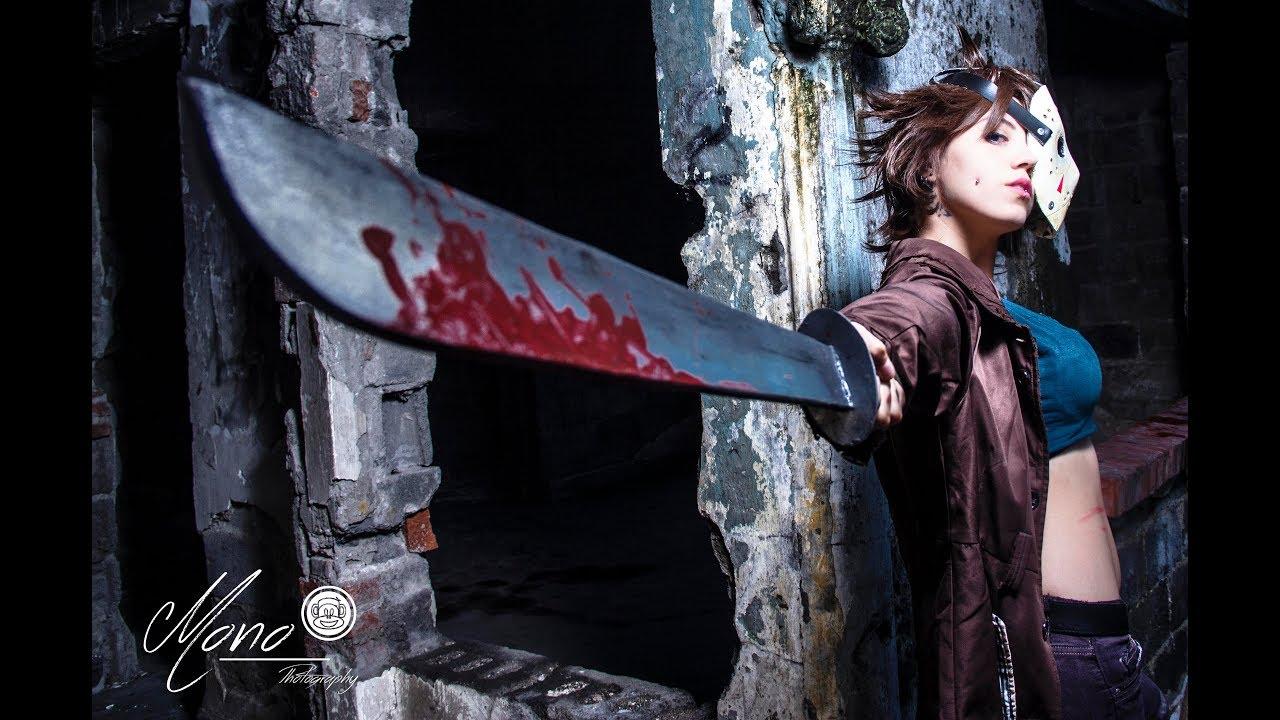 DIY TUTORIAL props cosplay Jason Vorhees (hacha, machete y ...