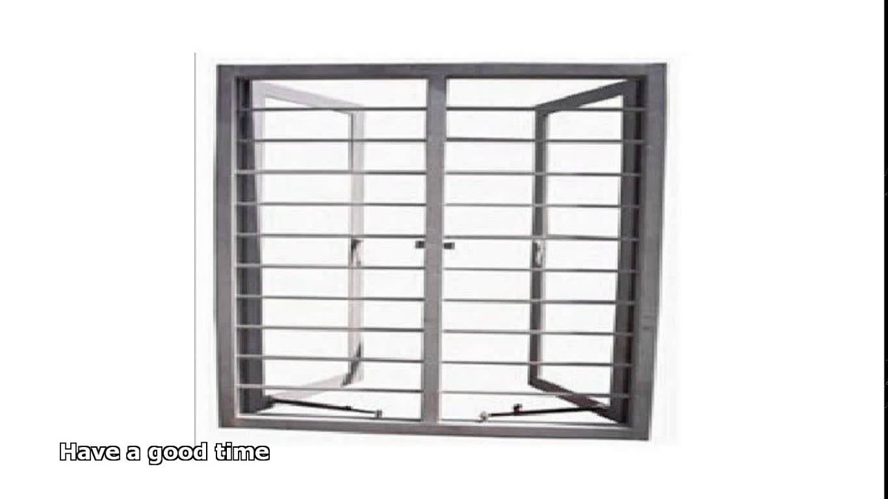 steel window frames - YouTube