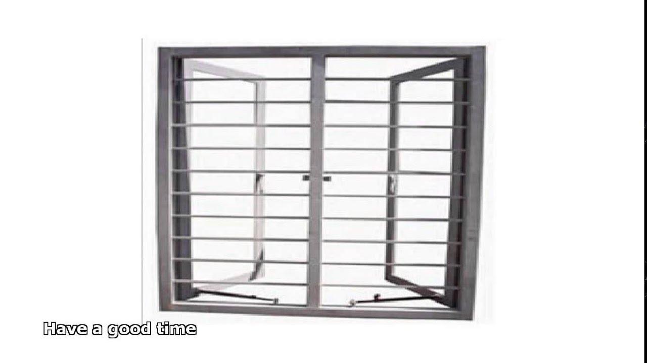 steel window frames - YouTube