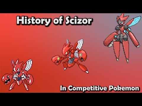 How GOOD was Scizor ACTUALLY?  History of Scizor in Competitive Pokemon Gens 26