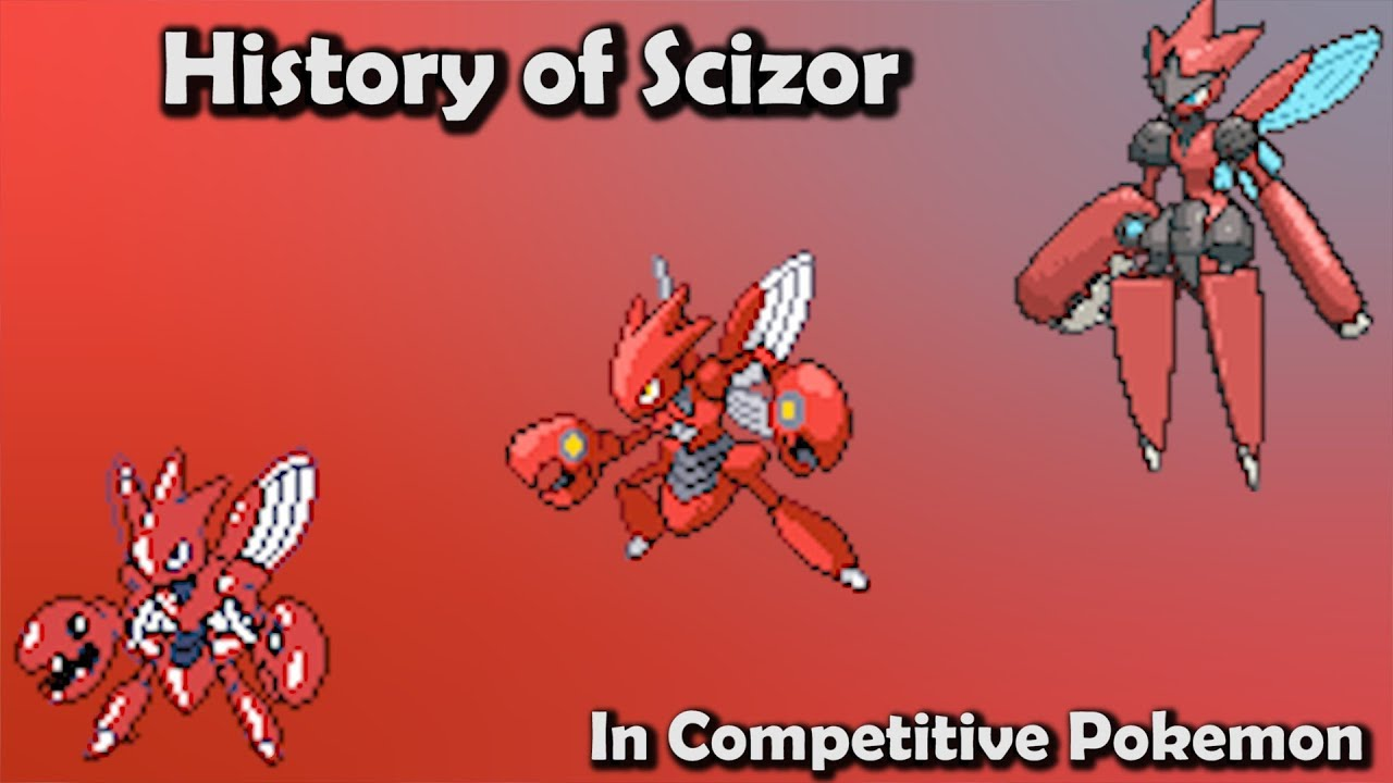 how good was scizor actually history of scizor in competitive