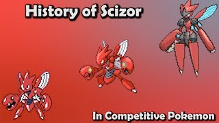 How GOOD was Scizor ACTUALLY? - History of Scizor in Competitive Pokemon (Gens 2-6)