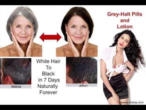 Dr GreyHalt Does White Hair to Black in 7 Days Forever Naturally in Washington DC USA
