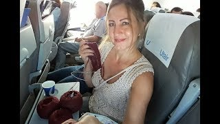 ВЯЗАНИЕ на борту самолета..КАК?//Бабушкино СЧАСТЬЕ//Почти связала свитер//Примерка//