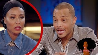 TI Confesses To LYING About Checking His Daughter's Body On Red Table Talk Interview