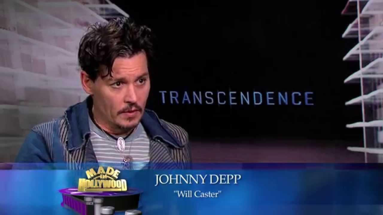 Transcendence - 1 on 1 - Johnny Depp - YouTube