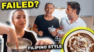 Filipino Breakfast Favorite! Foreigners FIRST Homemade CHAMPORADO