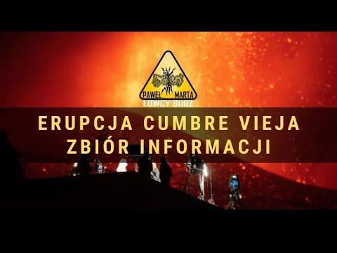 Cumbre Vieja – erupcja wulkanu na wyspie La Palma