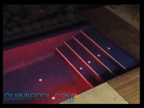Iluminacion led para piscinas  quimipoolcom  YouTube
