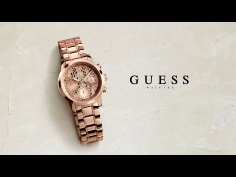 GUESS Watches Precious Metals