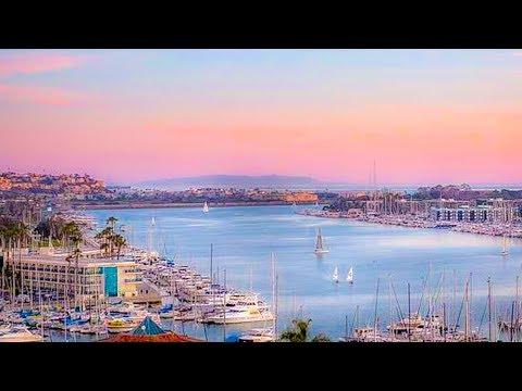 Yacht Watching In Marina Del Rey, Los Angeles