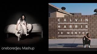 i see your love - Billie Eilish vs. Calvin Harris feat. Ellie Goulding (Mashup)