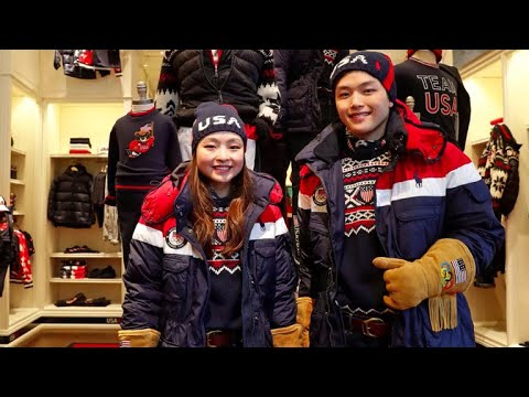 Winter Olympic uniforms from Team USA's past