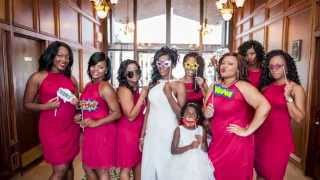 Red, White, And Black Wedding Ideas