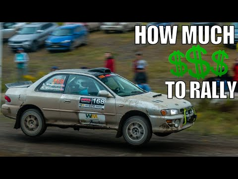The TOTAL COST To Race Stage Rally In America