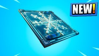 "NEW Fortnite Freeze Trap ""CHILLER"" Gameplay! (Fortnite Battle Royale Update 6.01)"