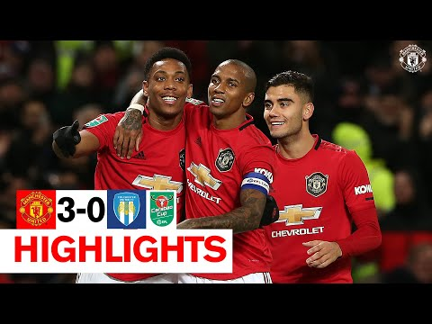Rashford And Martial Send The Reds Through To The Semis | Manchester United 3-0 Colchester United