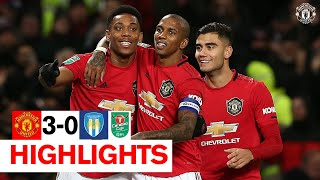 Rashford and Martial send the Reds through to the semis  Manchester United 3-0 Colchester United