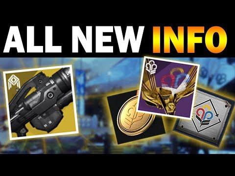 New Exotic Info, Guardian Games Breakdown, & Extra Pinnacle Engrams! (Destiny 2)