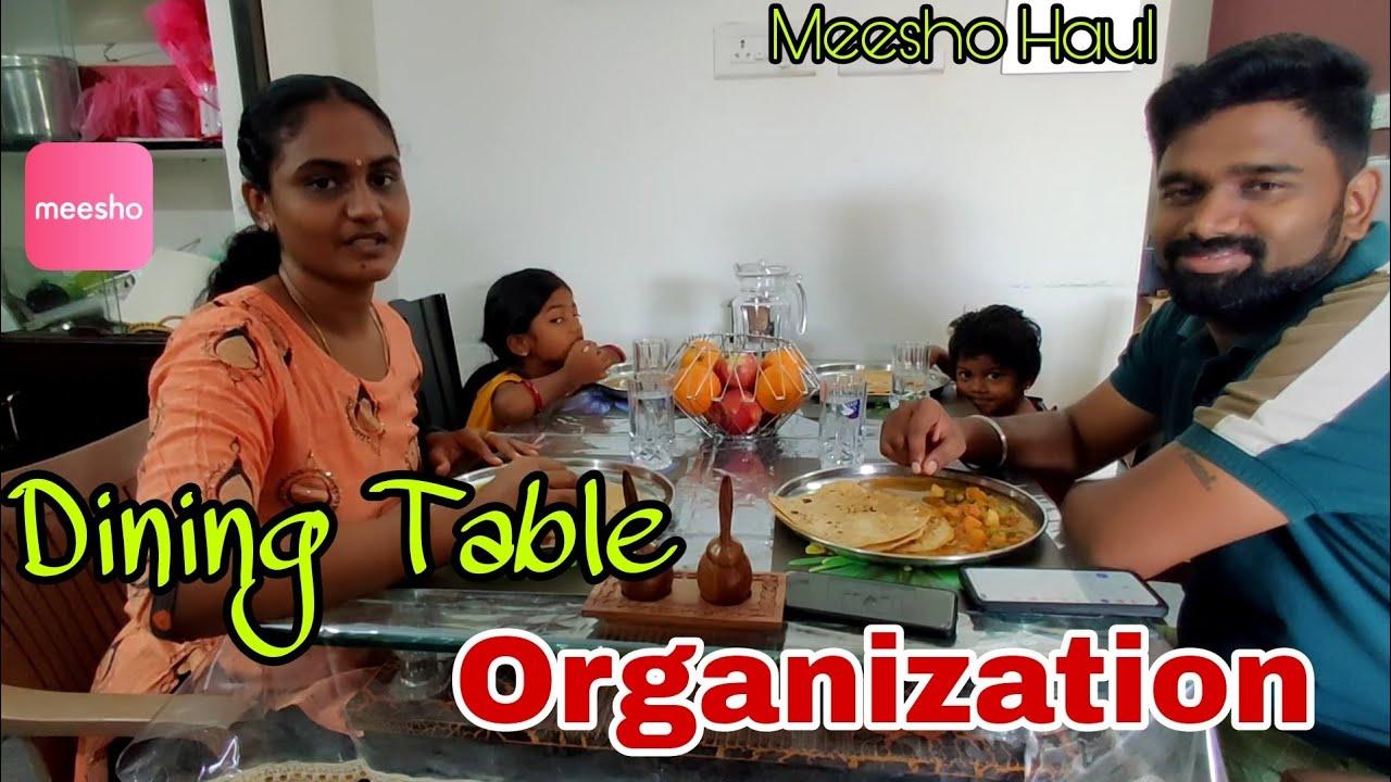 Dinning Table Decoration / Organization | Home Decor | Meesho Home Decor Haul | RK Family Vlogs