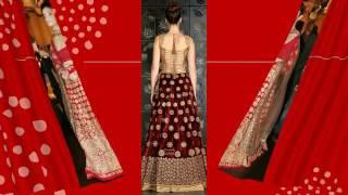 Latest Red Wedding Fashion Designs