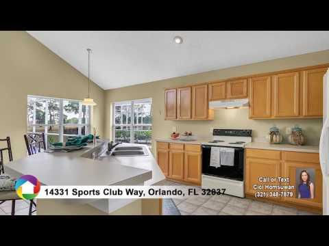 Just listed !!!  14331 SPORTS CLUB WAY, ORLANDO, FL 32837