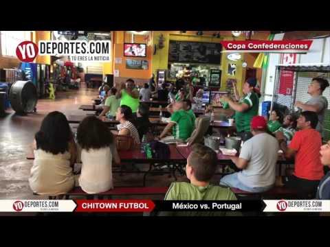 Mexico vs. Portugal Chitown Futbol festeja empate con carnitas
