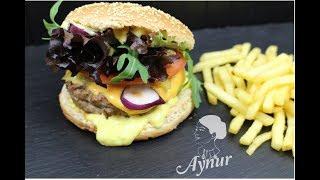 Parmak yediren Tavuk Burger Tarifim I Bu  Tavuk Burgerin lezzetine doyamayacaksin