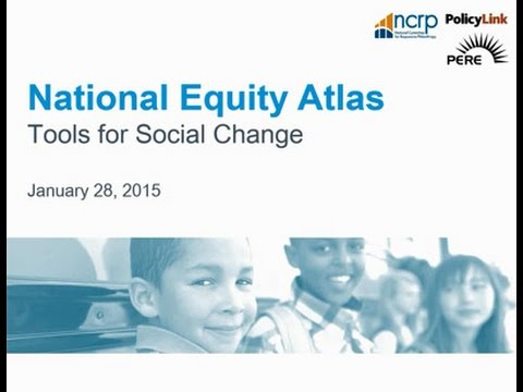 Tools for Social Change  The National Equity Atlas