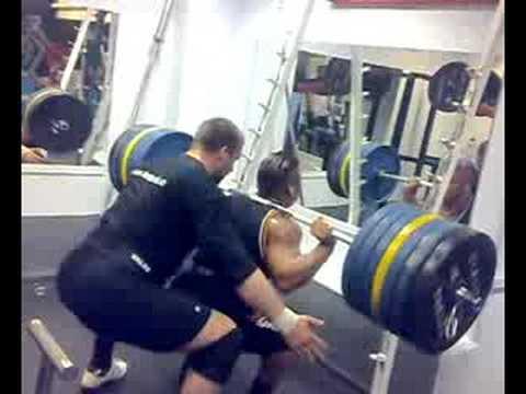 Daniel Stisen, Norwegian Bodybuilder, heavy squat